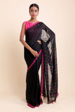 Those Black Eyes Khadi Cotton Saree