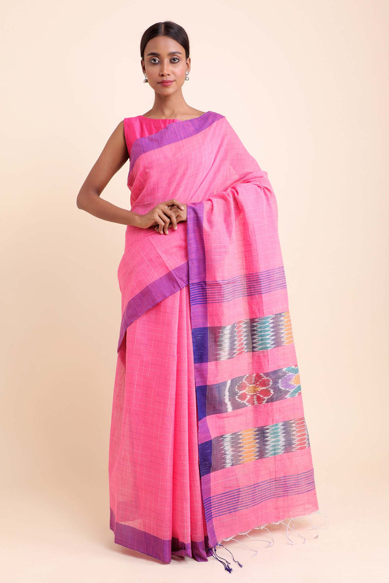 Nostalgia Cotton Blend Saree