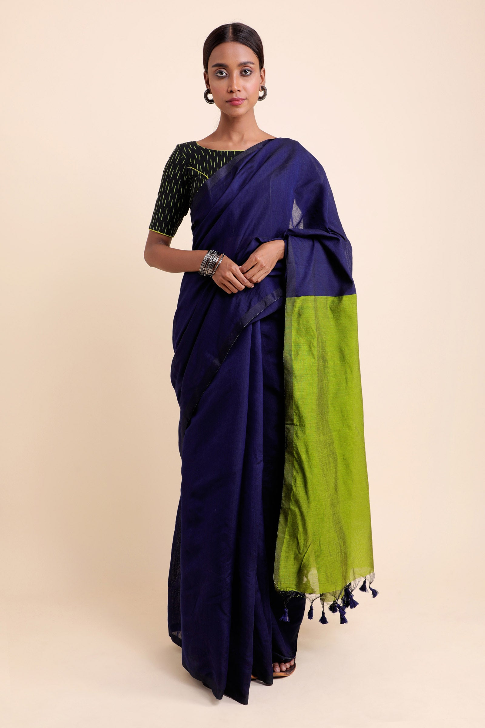 Nirvana Cotton Silk Saree