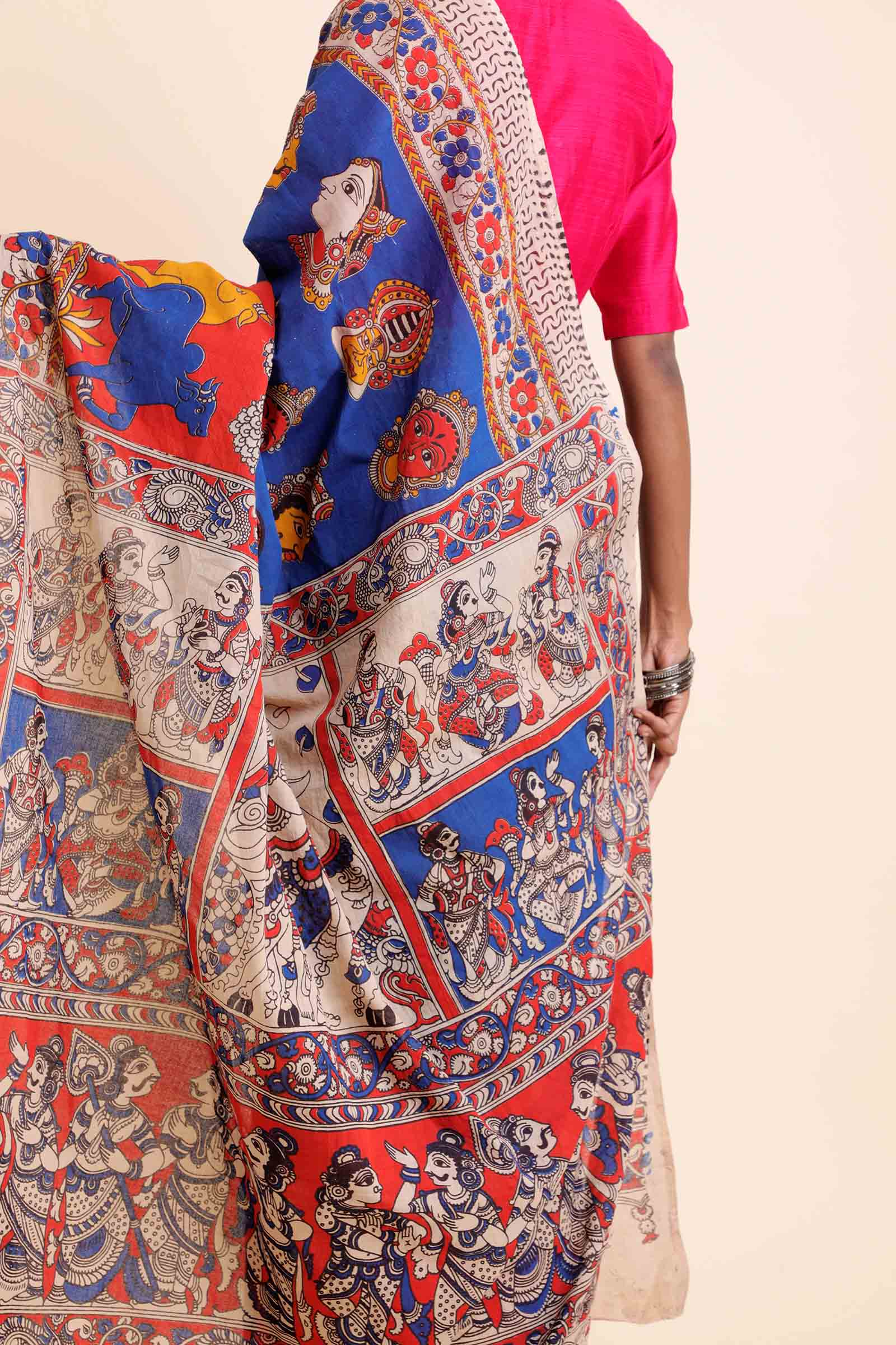 Faces Cotton Saree