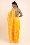 Sunflower Chanderi Saree