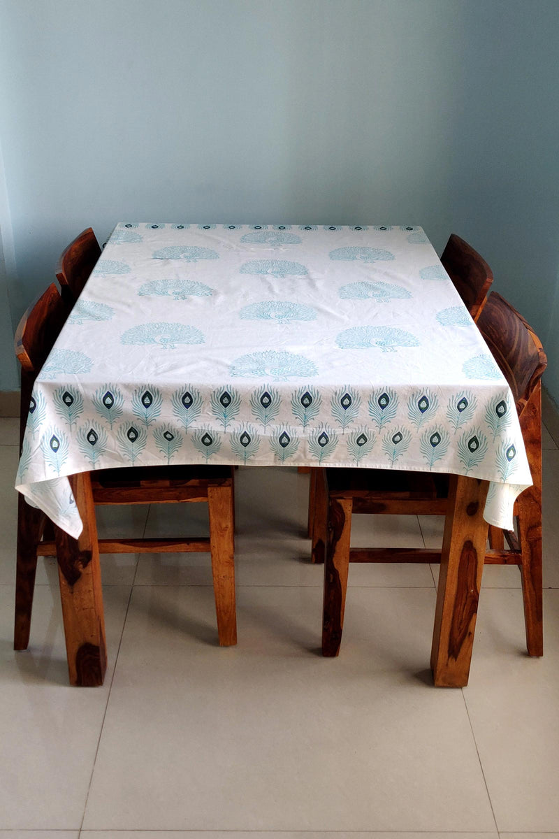 Mayura Cotton Handblock Table Cover