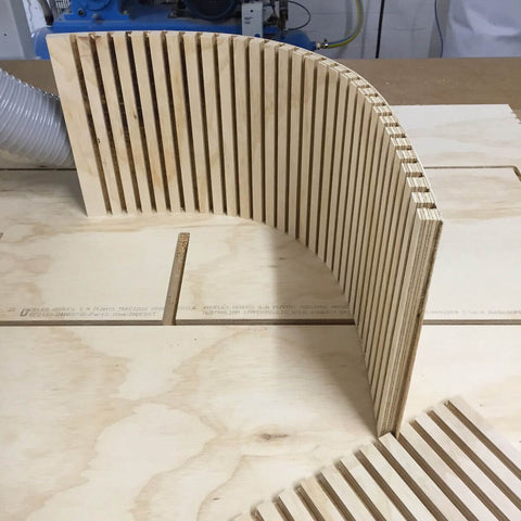 Like Butter CNC Routing Curve