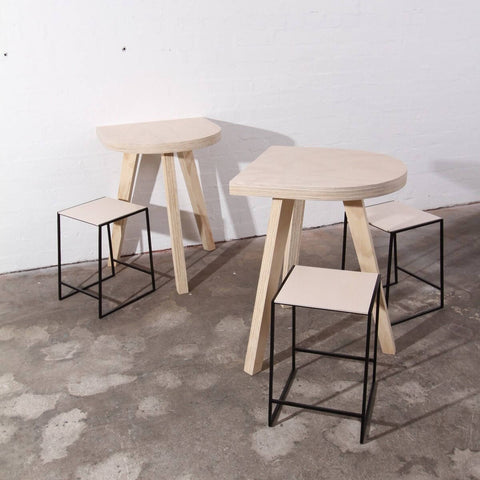 Like Butter Shop Fitting CNC Plywood Stools