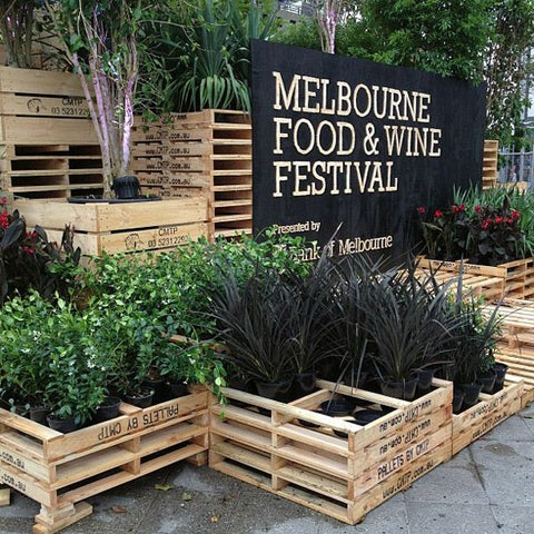 Like Butter Melbourne Food and Wide Festival Signage CNC
