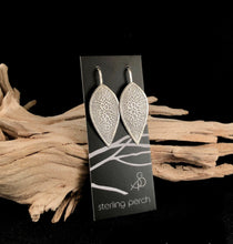 Load image into Gallery viewer, Mod Leaf Sterling Silver Earrings