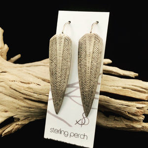 Feelin' Feisty Sterling Silver Earrings