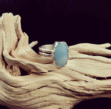 Load image into Gallery viewer, Amazonite Oval Rings