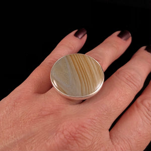 The Big Picture Jasper Ring-size 7