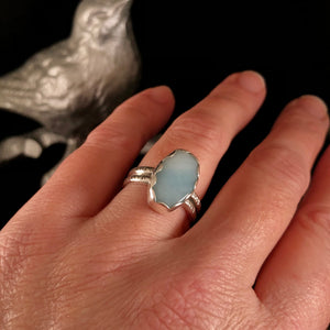 Amazonite Oval Rings