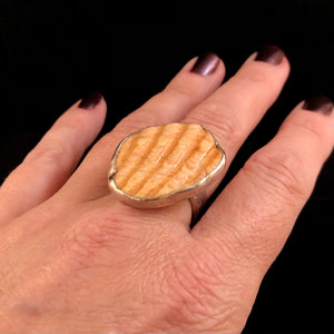 Destash Seashell Ring-size 8