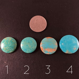 Round Turquoise Cabochons