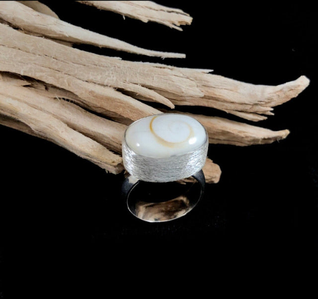 Shiva Shell Ring
