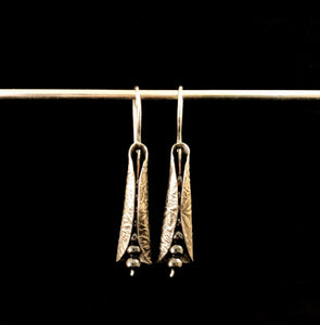 "Sterling Silver ""Incipient"" Earrings"