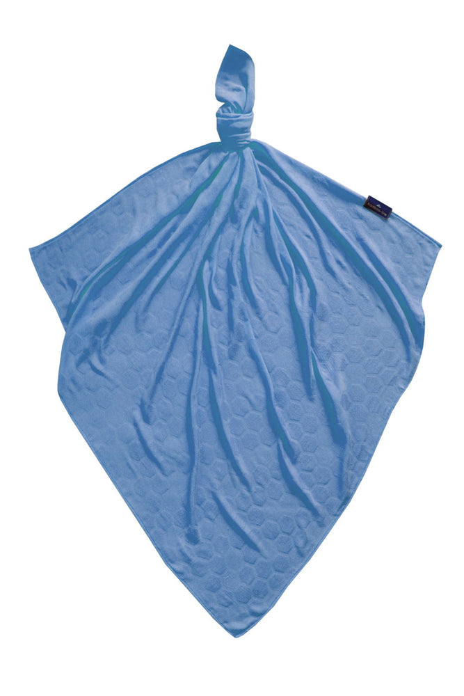 Bamboo swaddle blanket  blue