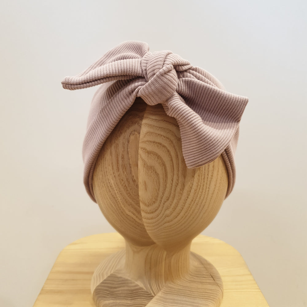 Ribbed headband - pink
