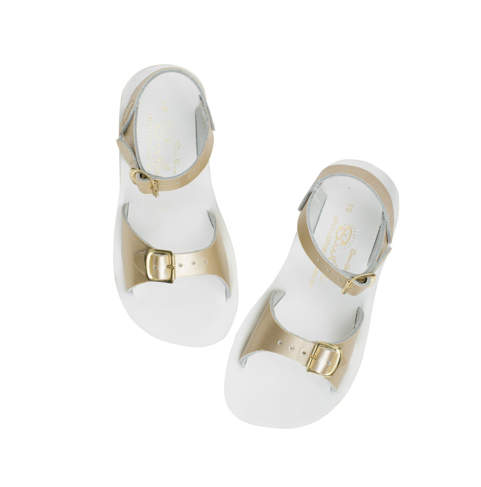 Salt-Water Sandal Surfer - GOLD