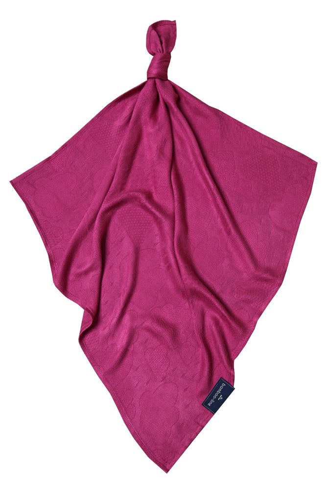Bamboo swaddle blanket  purple