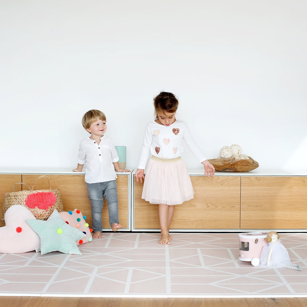 Playmat Toddlekind - Nordic pink
