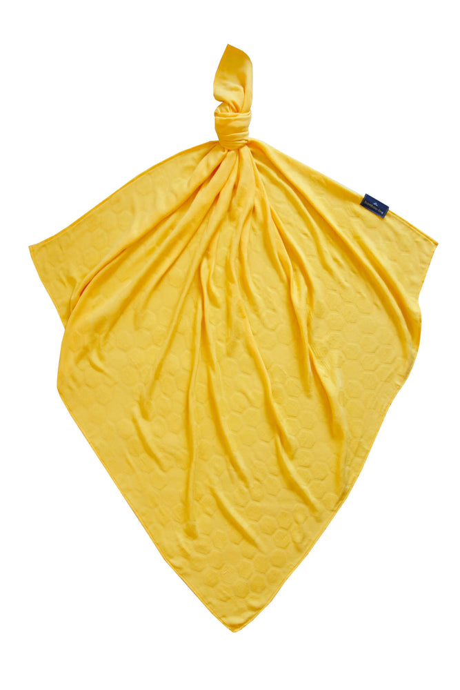 Bamboo swaddle blanket  yellow