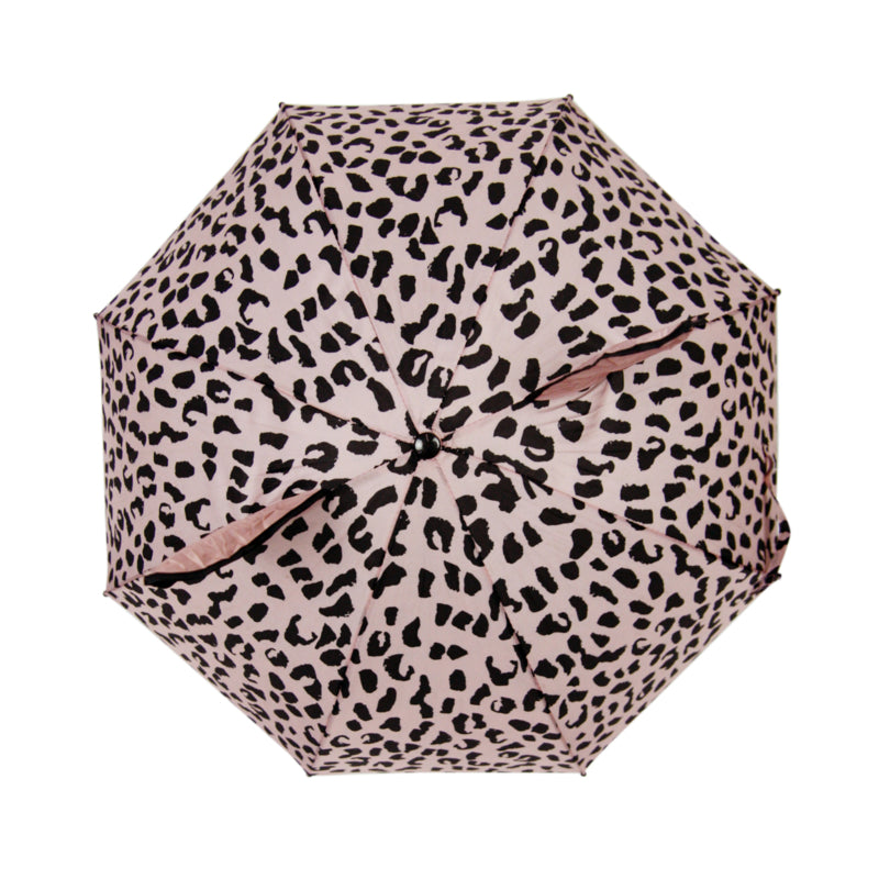 Umbrella with ears - Pink leopard