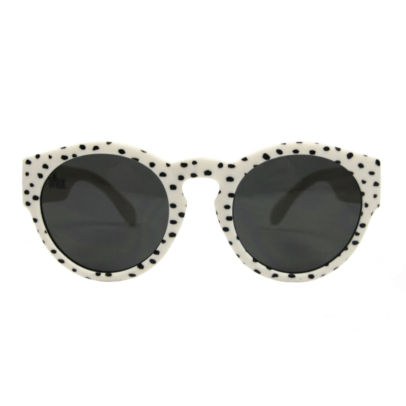 sunglases white dots - junior