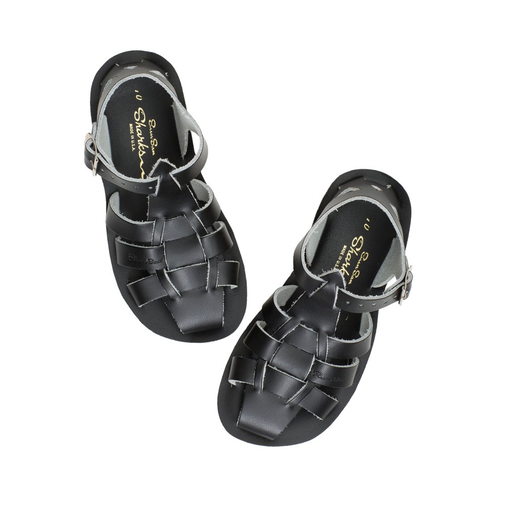 Salt-Water Sandal Shark - BLACK