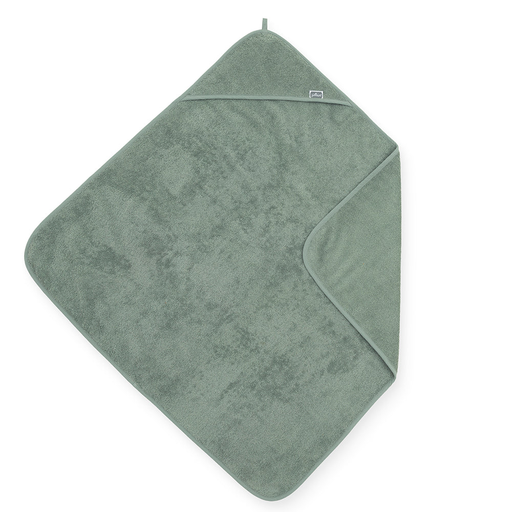Hooded towel green