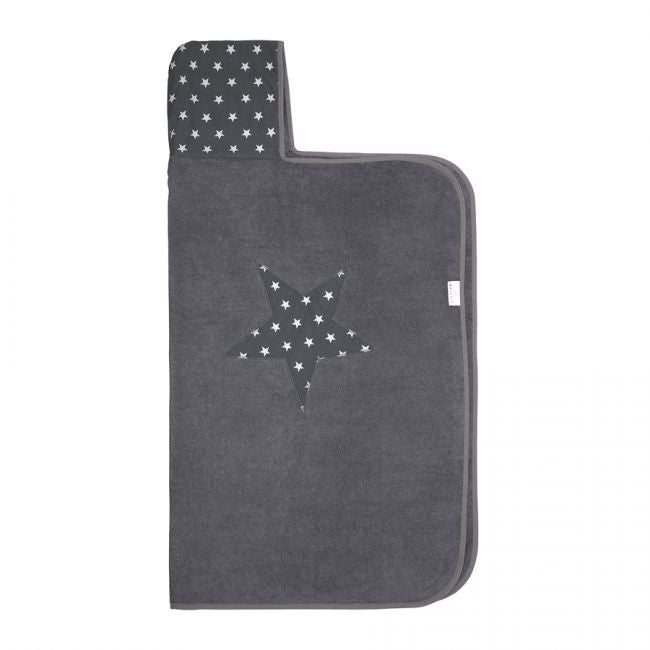 Bamboo Hooded Towel - Grey Star - MintMouse (Unicorner Concept Store)