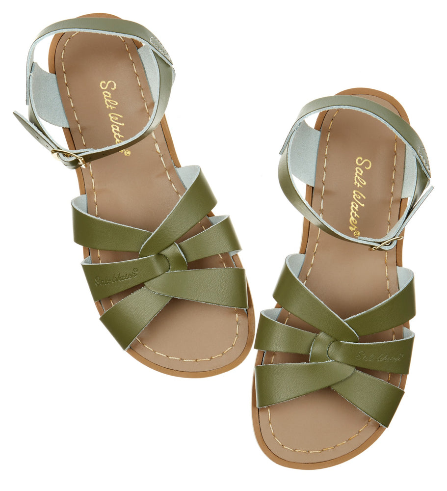Salt-Water Sandal Original - OLIVE (adult)
