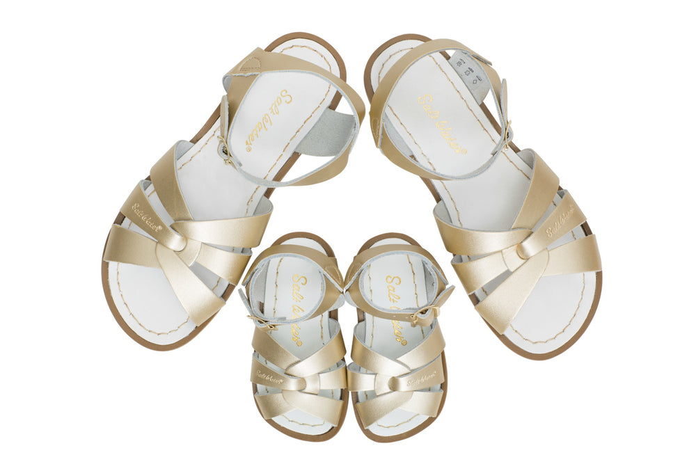 Salt-Water Sandal Original - GOLD (Kids & adult)