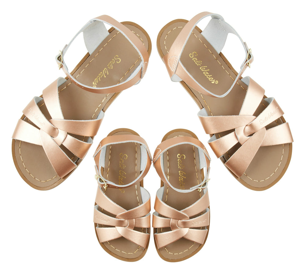 Salt-Water Sandal Original - ROSE GOLD (Kids & adult)
