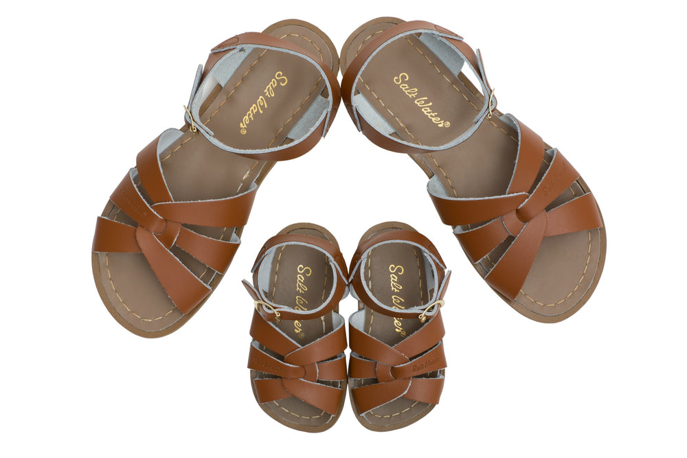 Salt-Water Sandal Original - TAN (Kids & adult)