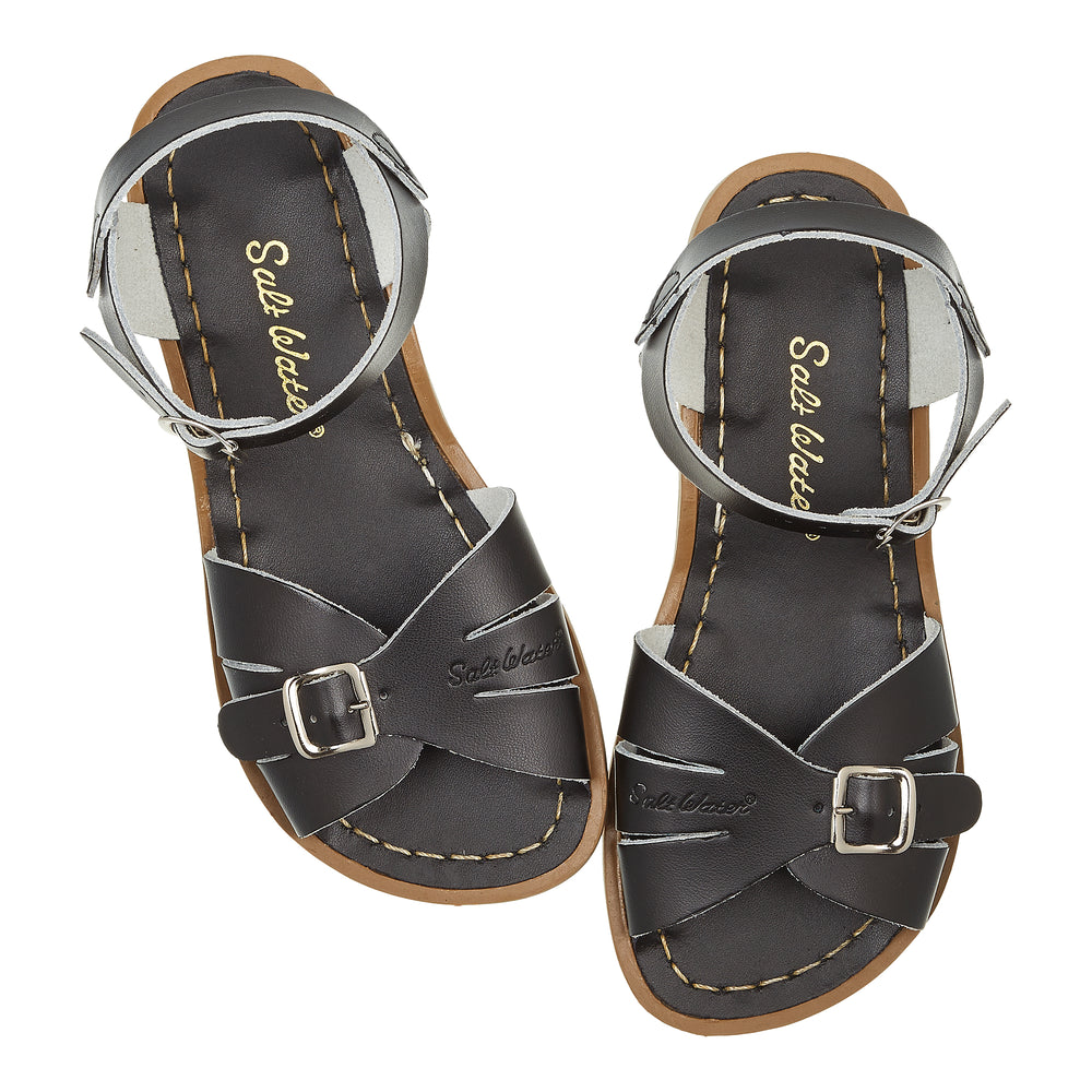 Salt-Water Sandal Classic - BLACK (adult)