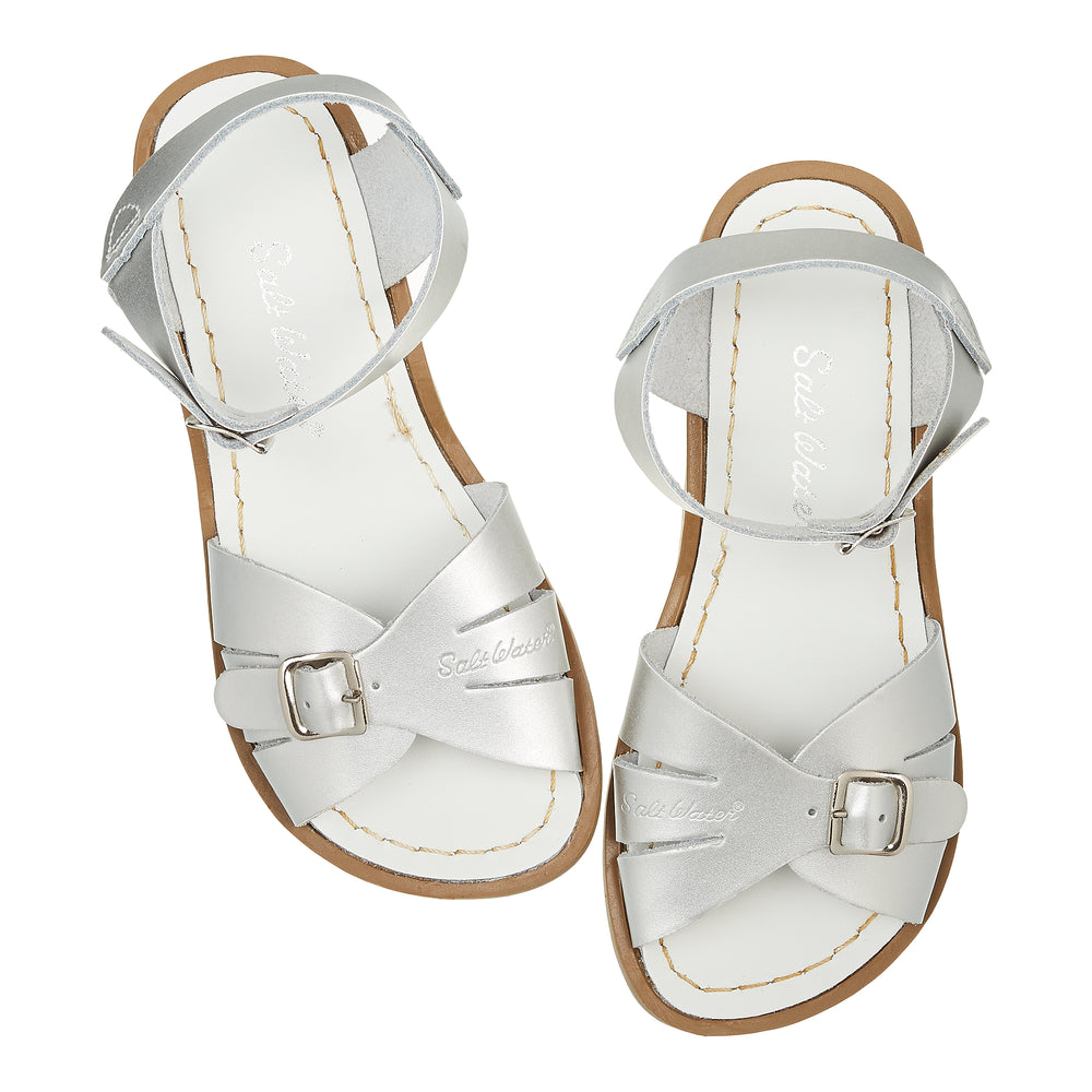 Salt-Water Sandal Classic - SILVER (adult)