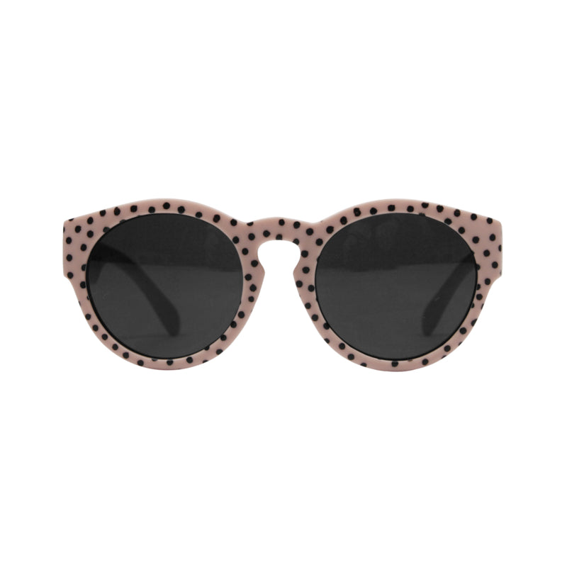 Sunglases dirty pink dots - junior