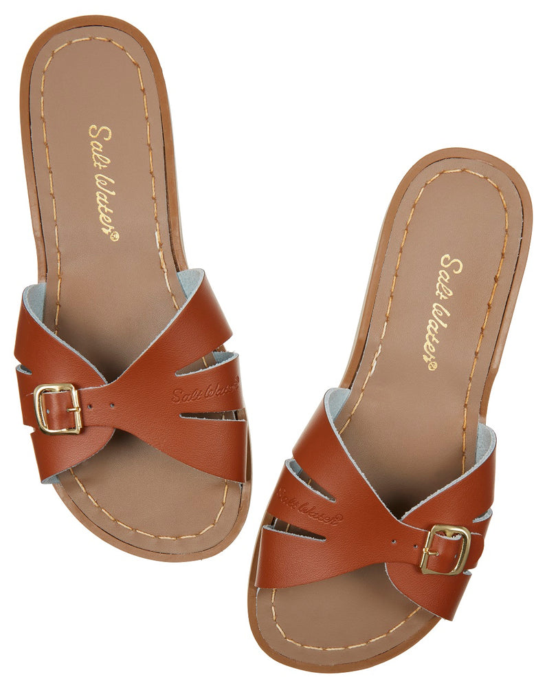 Salt-Water Sandal slide Classic - tan (adult)