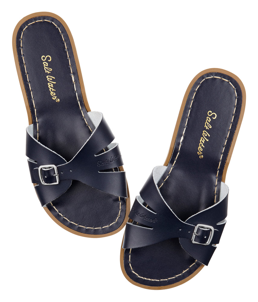 Salt-Water Sandal slide Classic - navy (adult)
