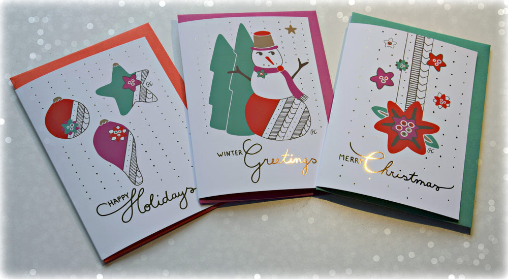 Christmas wish card - Merry Christmas - MintMouse (Unicorner Concept Store)