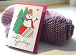 Christmas wish card - Winter Greetings - MintMouse (Unicorner Concept Store)
