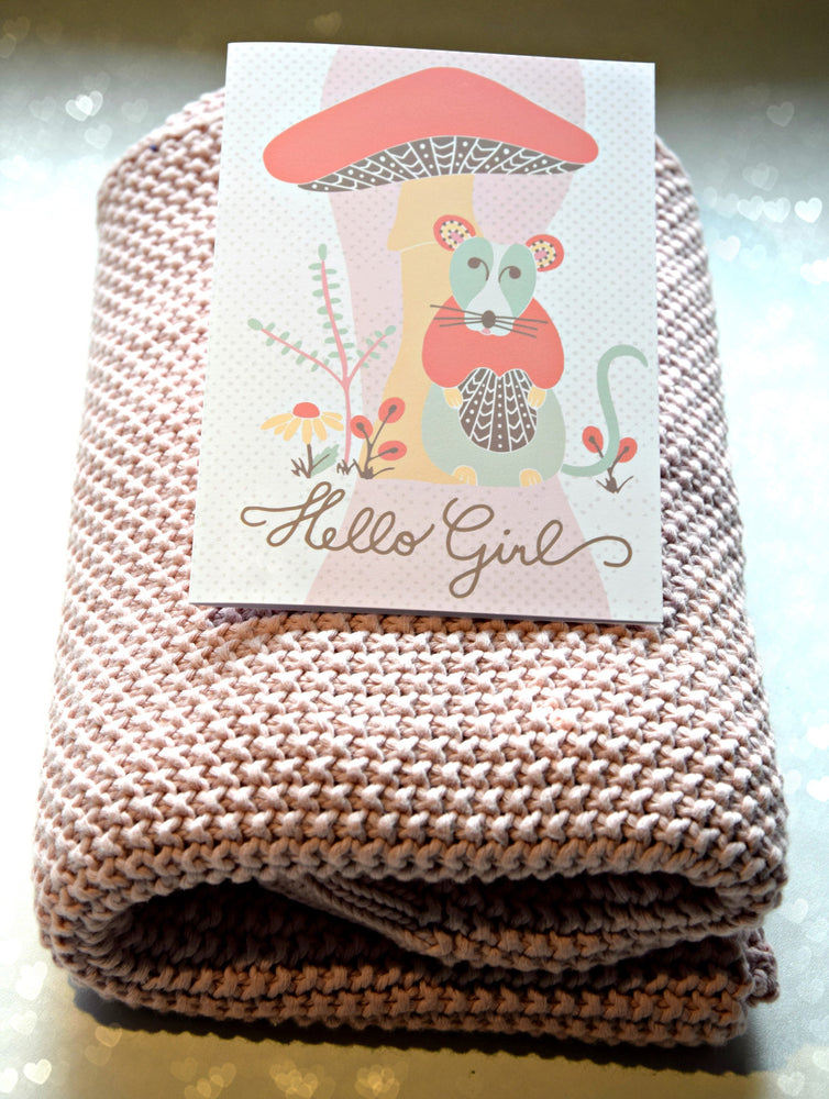 Mouse tales - Hello girl - MintMouse (Unicorner Concept Store)