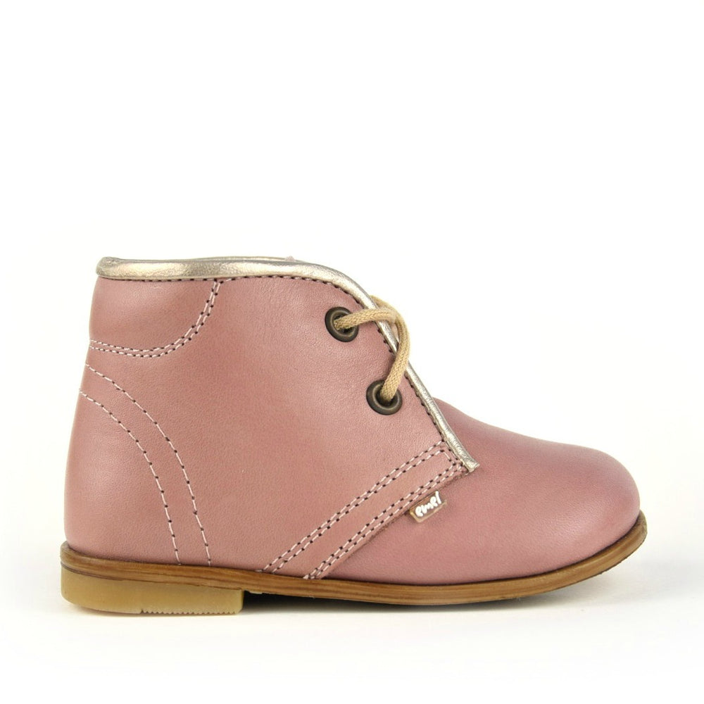Emel classic first shoes - dirty pink (2195-49)