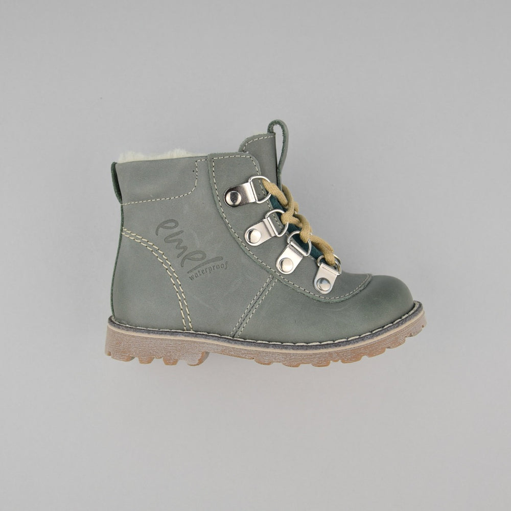 Emel mint Lace Up Winter Boots with membrane (2545A-V1) - MintMouse (Unicorner Concept Store)