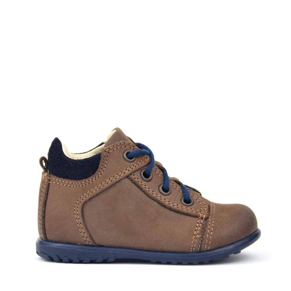 Emel brown Lace Up Trainers (2069-30M)