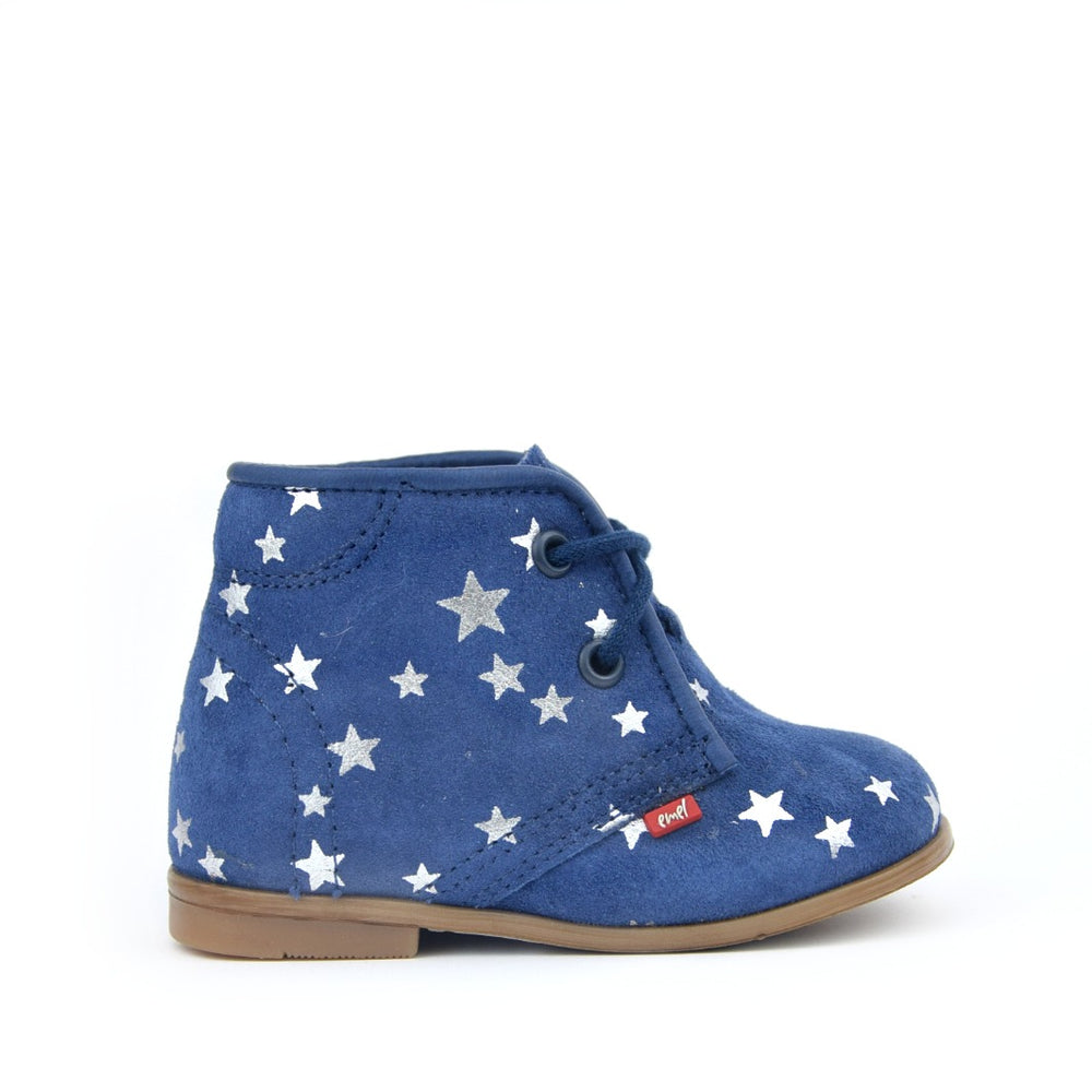 (2403-5) Emel blue stars Lace Up Shoes - MintMouse (Unicorner Concept Store)