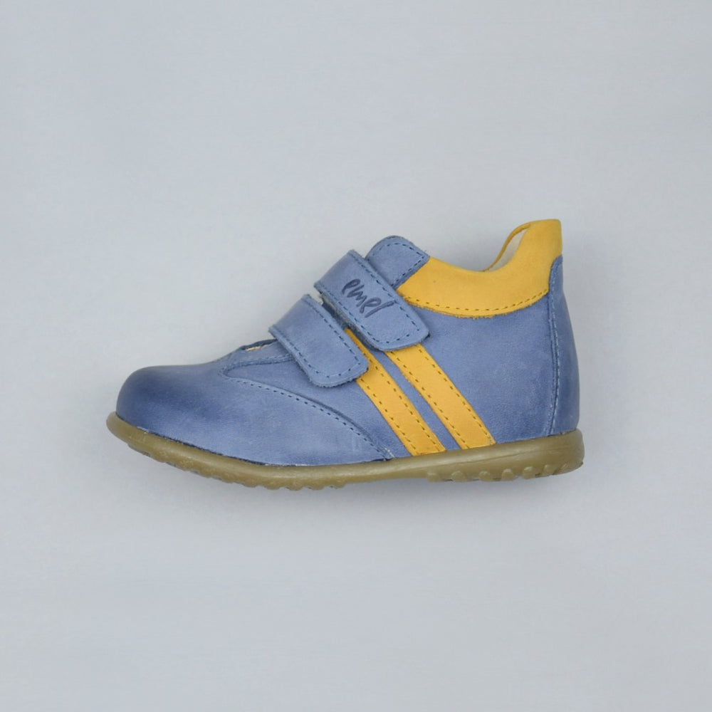 (2045D-5) Emel first shoes velcro blue - MintMouse (Unicorner Concept Store)