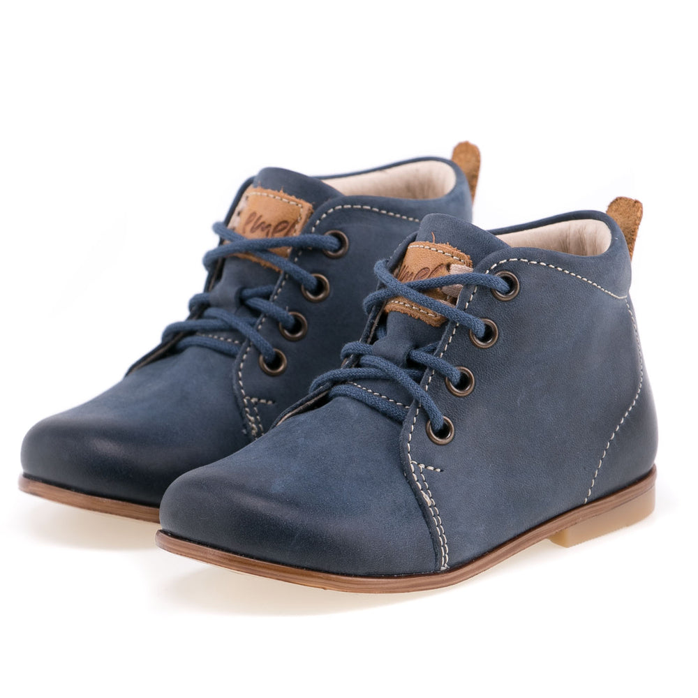 (1075-13) Emel first shoes blue