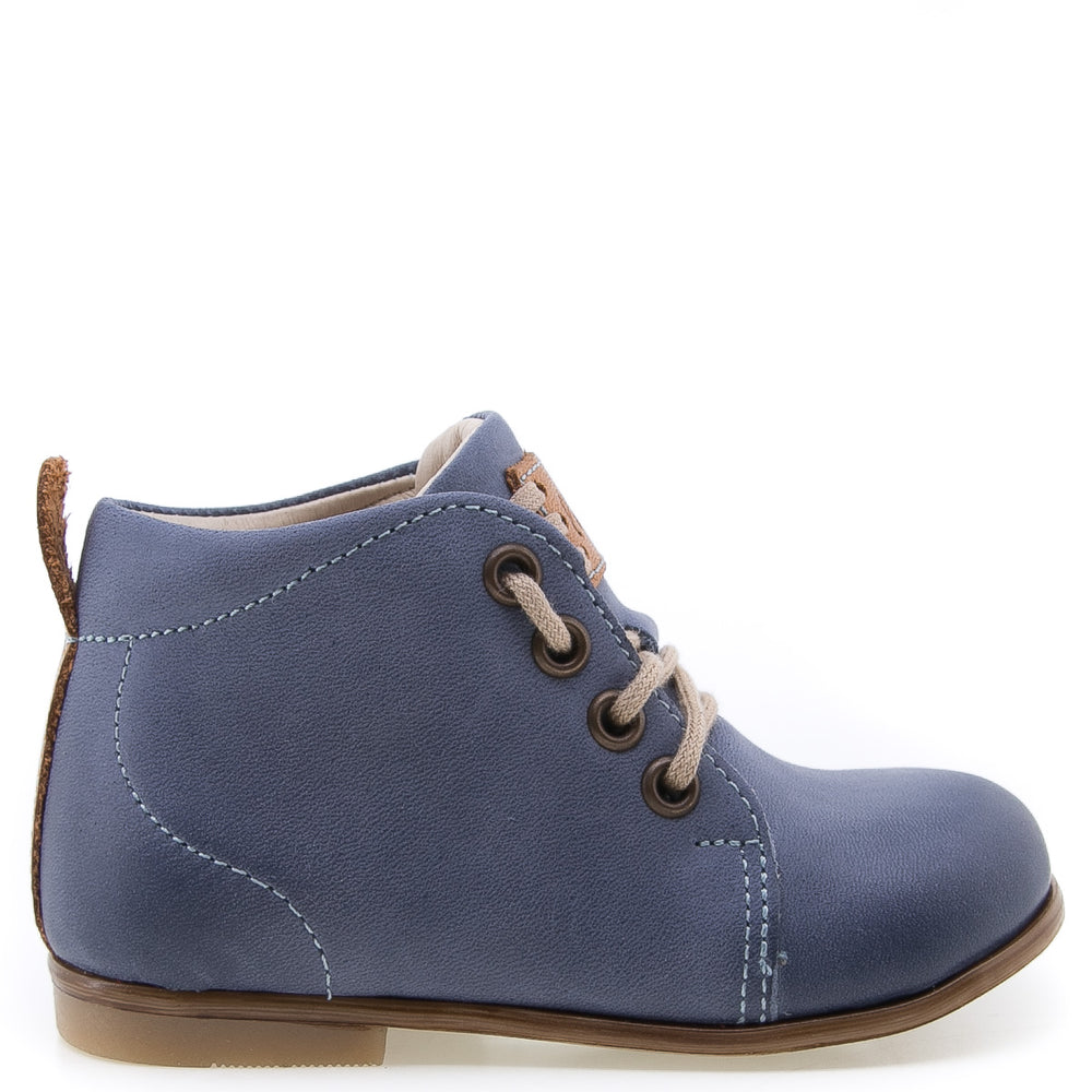 (1075-17) Emel classic first shoes blue