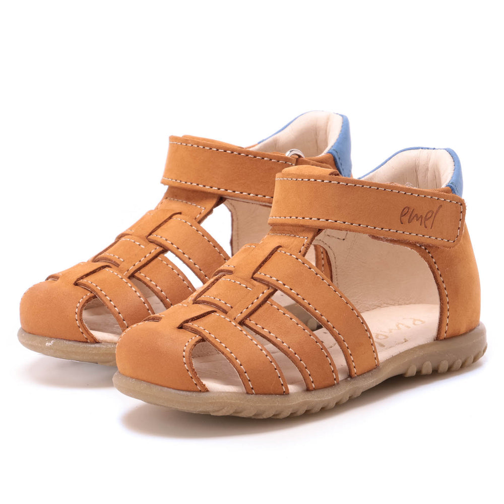 (1078-25) Emel yellow  closed sandals - MintMouse (Unicorner Concept Store)