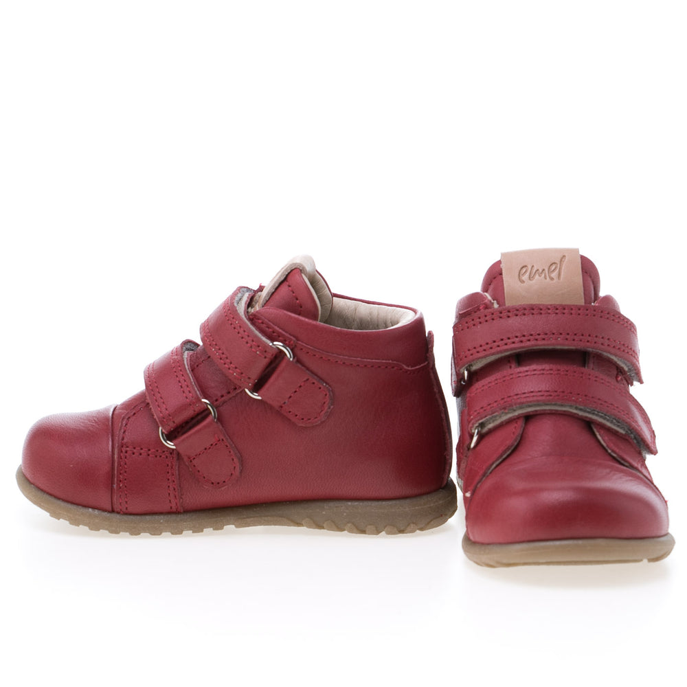 (1084-5) Emel first velcro shoes red - MintMouse (Unicorner Concept Store)